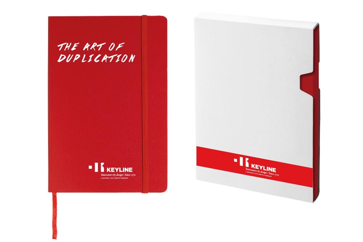 Keyline notebook